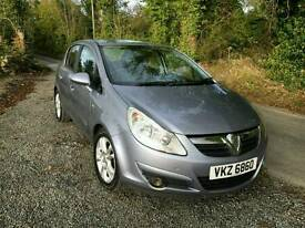 2008 Vauxhall Corsa SXI 1.4. LOW MILEAGE. PRICE REDUCED