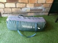 Nissiros 6 birth tent GOOD CONDITION AND FULLY WORKING