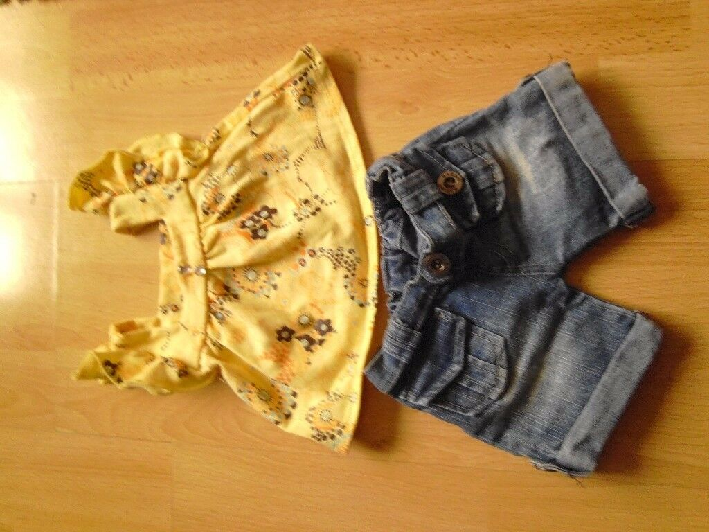 Build a Bear Jeans and Top