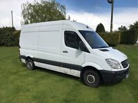 MERCEDES SPRINTER, 2006, PAL VAN 112k miles NO VAT