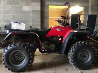 Honda Trx300 fourtrax, bigred, ATV, Quad