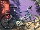 Men's Giant Hybrid Bike, large frame, Shimano Alivio 24 gears