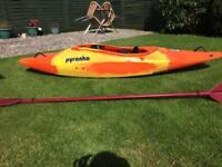 Pyranha play boat