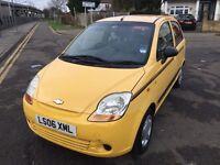 2006 Chevrolet Matiz 0.8 SE 5dr,LOW INSURANCE GRUOP+CHEAP TAX HPI Clear @07445775115@