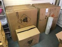 Removal boxes cardboard