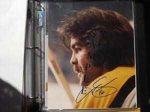 FS: Derek Sanderson (Boston Bruins) 8x10 Autographed Photo