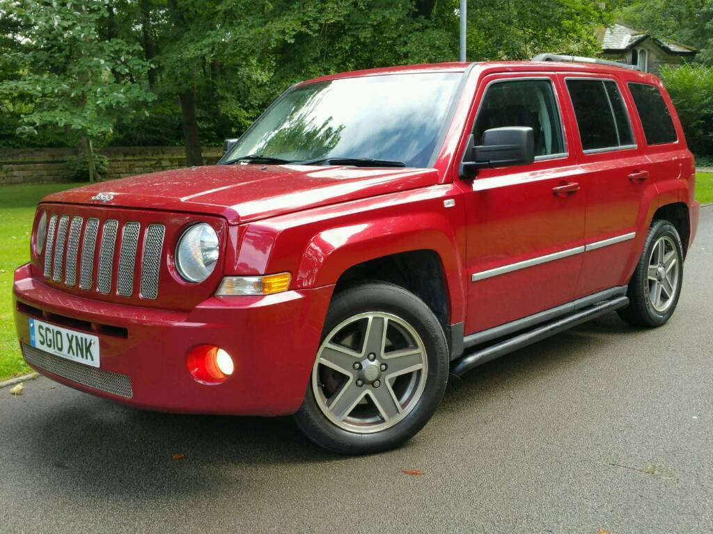 Jeep patriot 2 0crd 2010 10 limited edition leathers navig n h seats s steps landrover crv x trail