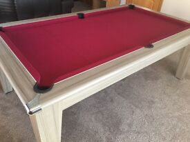 7' Pool Table (slate bed)