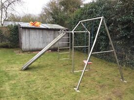 Bespoke Swing, Climbing Frame and Slide made from Stainless Steel Tubing