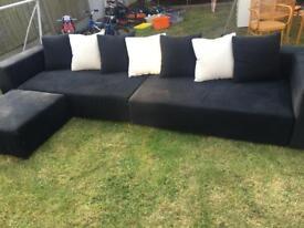 Habitat modular sofa