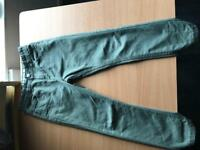 Boys age 7-8 green jeans