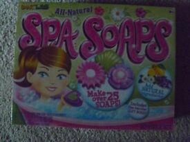 for sale bnib making spa soaps