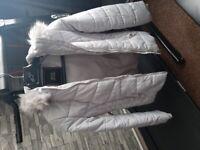 Girls river island coat 11-12