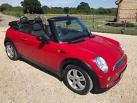 Great Mini One Convertible for the summer only 72,500 miles, 12 months MOT and just serviced.