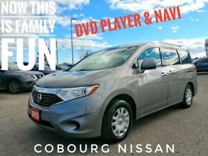 2012 Nissan Quest 3.5 S Navi & Rear DVD  FREE Delivery