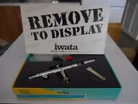 UNWANTED GIFT FULL AIR BRUSH KIT INC Iwata Eclipse HP-BCS - Dual Action Airbrush ink compressor ETC