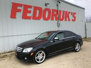 2009 Mercedes-Benz C-Class 3.5L 4-MATIC Package ***2 Year Warran