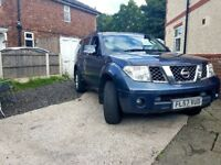 Nissan pathfinder sport 7 seater. Long mot. Service history. Full log book. 2650.