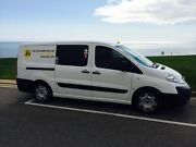 2009 Fiat Scudo Van 3 seater 6 doors 6 speed manual Woodcroft Morphett Vale Area Preview