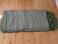 Child's instant bed / sleeping bag & mattress