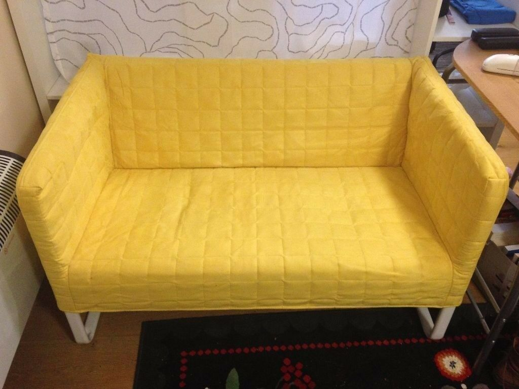 Ikea Yellow Knopparp Sofa Two Seater Can Deliver