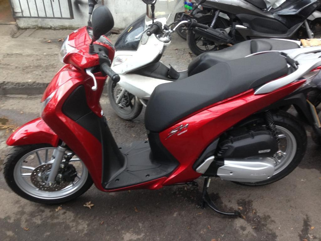 Honda SH 125 2016 done only 80miles