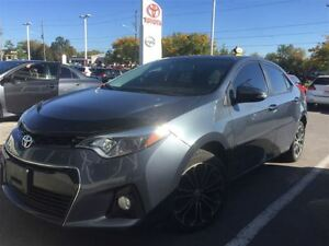 2014 Toyota Corolla S-LEATHER+NAVI+XTRA WARRANTY!