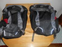 Panniers, used twice, quick sale