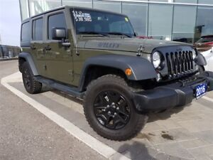 2016 Jeep WRANGLER UNLIMITED Sport - BLUETOOTH, SIRIUS XM, AUX I