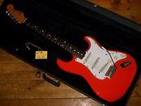 Fender JV Squier 62 Vintage Reissue Stratocaster 1983 made in Japan with original Fender USA pickups