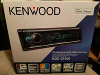 Kenwood head unit new with box and warranty