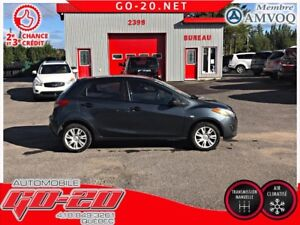 2012 Mazda Mazda2 22$/SEM AIR CLIMATISE BAS KM GARANTIE UN AN IN