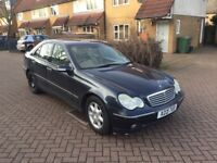 MERCEDES BENZ C CLASS AUTOMATIC WITH MOT IN EXCELLENT CONDITION