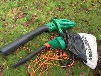 Black and decker leaf blower