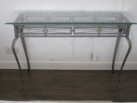 Glass Oblong Table
