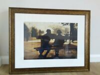 Very Large John Lewis Framed Print by Anne Magill, Picture, Artwork, Painting, Like Jack Vettriano, used for sale  Poynton, Manchester