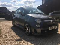 Abarth 500. 2015. T-Jet. 135bhp with Carplay DAB