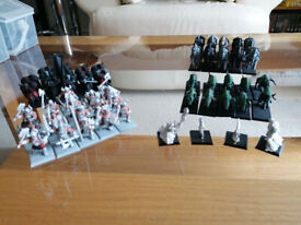 OOP Warhammer Fantasy 8th Ed Warriors of Chaos army including case and bits