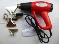Hot Air Heat Gun 2000W High Performance Adjustable Heat 60-550C Paint Stripper etc