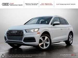2018 Audi Q5 2.0T Progressiv Quattro 7sp S Tronic One Owner, No