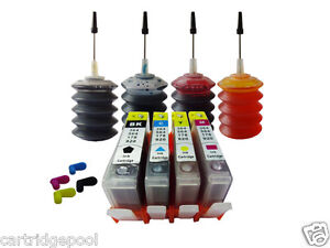 4-Refillable-ink-cartridge-with-chip-HP-920-XL-OfficeJet-7000-7500a-4x30ml-1P