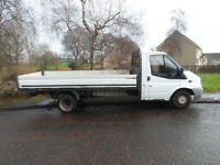 FORD TRANSIT T 350 LWB DROPSIDE 08 PLATE 2008 MOT FEB 2018 CALL 07535 218962
