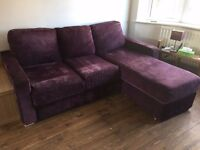 Nabru modular 3 seater sofabed and snuggle seat