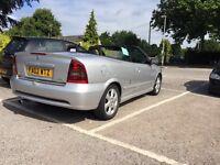 Vauxhall Astra 2.2L 02' Reg Silver Convertible Bargain
