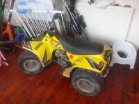 SUZUKI lt 50cc good condition