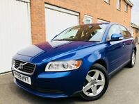2009 59 Volvo S40 2.0 Diesel LOW MILEAGE 80,000 Miles FSH++Exc Condition++not v50 s60 vectra a4 320