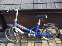 Explore folding bike