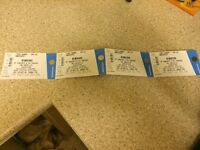 4 Fratellis tickets for barrowlands 10th december 2016