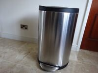 BRABANTIA SIMPLEHUMAN STAINLESS STEEL DOUBLE PEDAL BIN