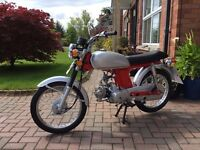 Honda SS50 Moped copy - as new less than 110 miles